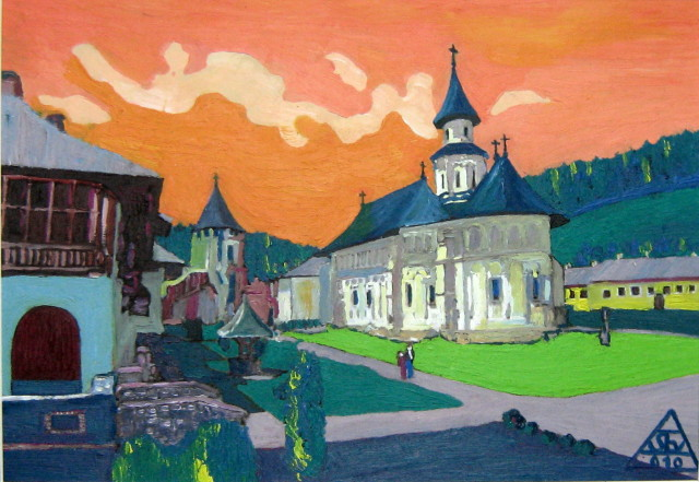 Holy Putna - Constantin Severin
