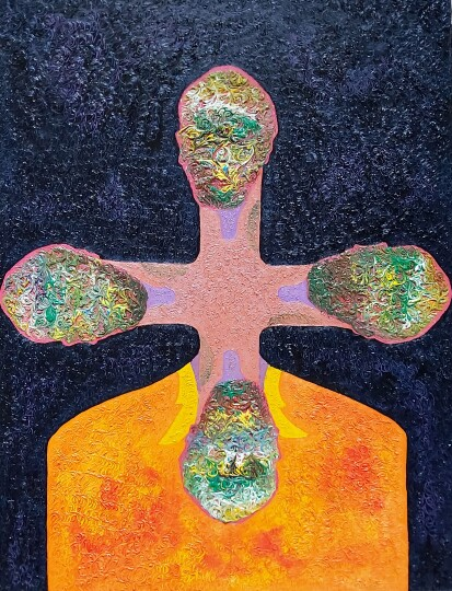 Cross-Selfportrait (II) - Constantin Severin